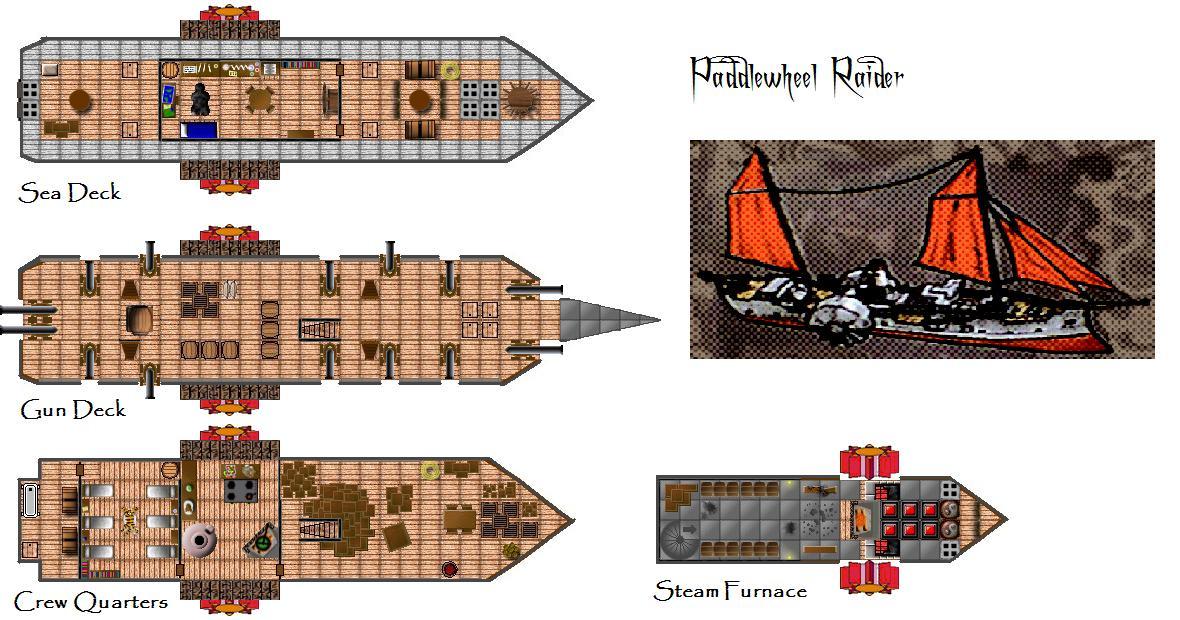 4e Steamboat 4e Vehicle